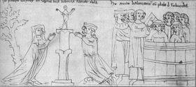 Le baptême de Ludmila et Bořivoj
