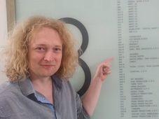 Martin Dušek at Bubenská 1, photo: Ian Willoughby