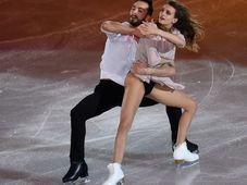 Gabriella Papadakisová a Guillaume Cizeron z Francie, foto: ČTK