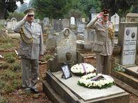 Hrob Vítězslava Rosíka v Addis Abebě, foto: archiv MZV ČR