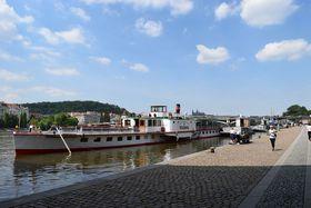 Le bateaux Vltava, photo: Ondřej Tomšů