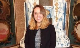Blanca Almendro , becaria y una de las ponentes, foto: Ivana Vonderková