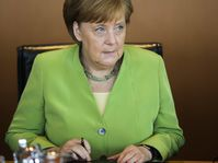 Angela Merkel (Foto: ČTK/AP/Markus Schreiber)