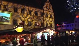 Pirnaer Canalettomarkt (Foto: YouTube Kanal des Pirna TV Lokalfernsehens)