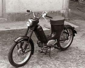 Starý motocykl Jawa, ilustrační foto: Public Domain