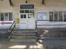 Smíchov railway station, photo: archive of Matěj Černý
