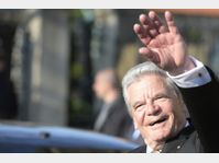 Joachim Gauck, photo: ČTK