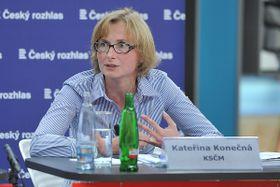 Kateřina Konečná (Foto: Filip Jandourek, Archiv des Tschechischen Rundfunks)