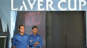 Roger Federer et Rafael Nadal, photo: ČTK, photo: ČTK