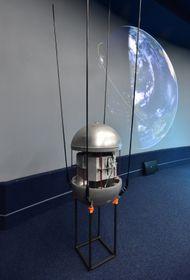 Replik des Sputniks (Foto: ČTK)
