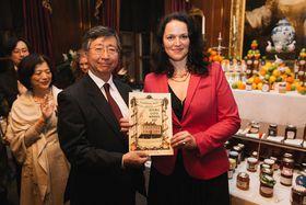 Jozefína Růžičková na World's Original Marmalade Awards, foto: archiv Jozefíny Růžičkové