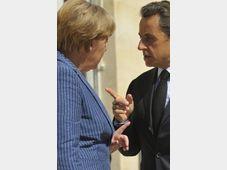 Angela Merkel y Nicolas Sarkozy, foto: ČTK