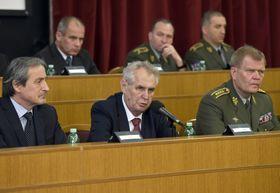 Мартин Стропницкий, Милош Земан и Йозеф Бечварж, Фото: ЧТК