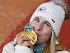Ester Ledecká, photo: CTK