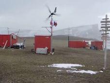 Tschechische Forschungsstation in der Antarktis (Foto: YouTube)