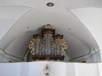 The organ in the church in Rožmitál pod Třemšínem, photo: Martina Schneibergová