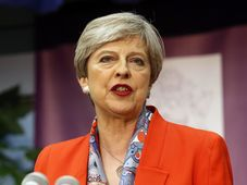 Theresa May, photo: CTK