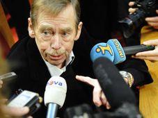 Václav Havel (Foto: Tomáš Adamec, Archiv des Tschechischen Rundfunks)