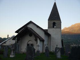 L'église Villeneuve d'Uriage, photo: Magdalena Hrozínková