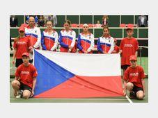 Чешские теннисистки в полуфинале Кубка федерации победили в Остраве со счетом 3:1 соперниц из Франции (Фото: ЧТК)
