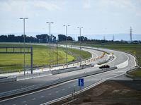 The last stretch of the D11 highway linking Prague with Hradec Králové, photo: ČTK