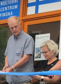 Ari Seppälä und Helena Tuuri (Foto: Martina Schneibergová)