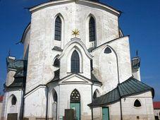 Kirche des hl. Johannes von Nepomuk auf dem Grünen Berg (Foto: Archiv Radio Prag)