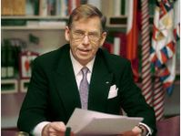 President Vaclav Havel, photo CTK