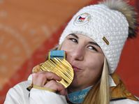 Ester Ledecká, photo: ČTK