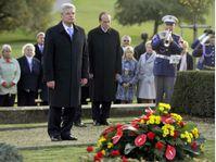 Joachim Gauck à Lidice, photo: CTK