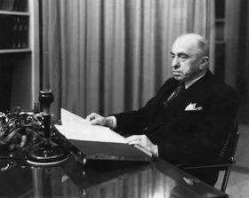Радиообращение Эмиля Гахи к народу, март 1939 г., Фото: архив Чешского радио