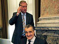 Mirek Topolánek et Karel Schwarzenberg, photo: CTK