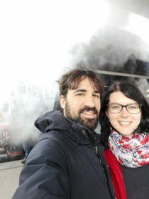 Pablo y Andrea, foto: archivo de Pablo