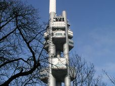 The Žižkov TV tower in Prague