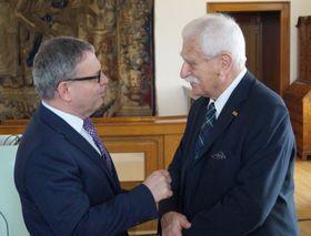 Lubomír Zaorálek, Paul Millar, photo: Miloš Turek