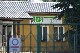 Schweinemast in Lety (Foto: ČTK)
