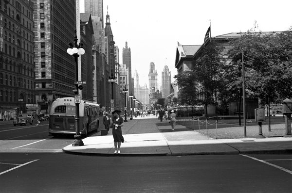 Chicago in 1940, photo: Public Domain