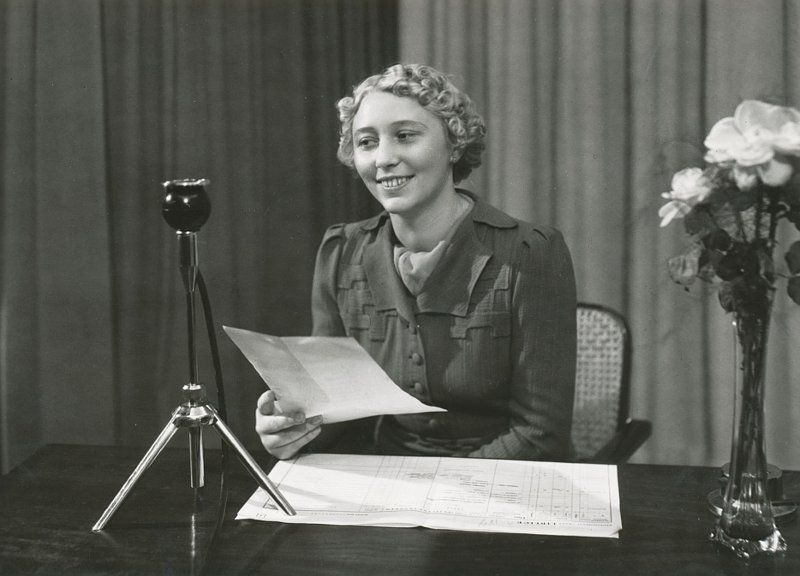 Радиодиктор Гелена Кроуска, фото: Архив Чешского радио