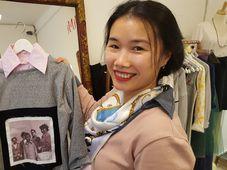 Nguyen Hoang Lan ve svém butiku, foto: Klára Stejskalová