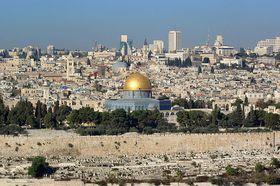 Jerusalén en la actualidad, foto: public domain