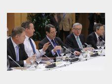 Gipfel in Brüssel (Foto: ČTK)