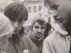 Novembre 1989 à Jihlava, photo : Archives de Musée de Vysočina