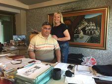 Eva Deskovska s manželem, foto: Pavel Novák