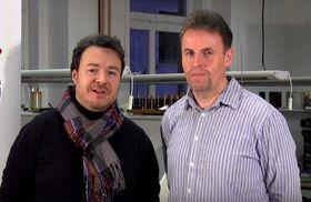 Milan Řeřicha und Roman Zlesák (Foto: YouTube Kanal von RZ Woodwind Manufacturing)
