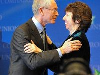 Herman Van Rompuy et Catherine Ashton, photo: Commission européenne