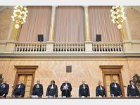 La Cour constitutionnelle, saisie par l'opposition social-démocrate, a annulé ce lundi les mesures d'austérité du gouvernement, photo: CTK