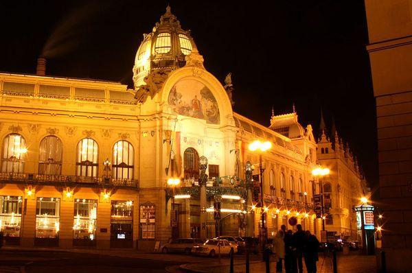 La Casa Municipal de Praga, foto: Karelj / free domain