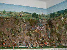 La crèche de la famille Bílý, photo: Site officiel de Spolek přátel betlémů v Třešti