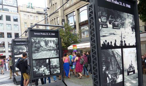Вацлавская площадь, Прага, Фото: Клара Стейскалова, Чешское радио - Радио Прага