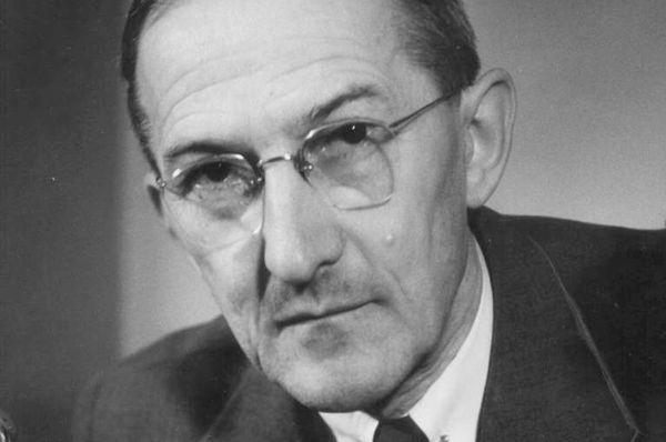 Jaroslav Heyrovský, photo: Archives de ÚFCH J.Heyrovského AV ČR